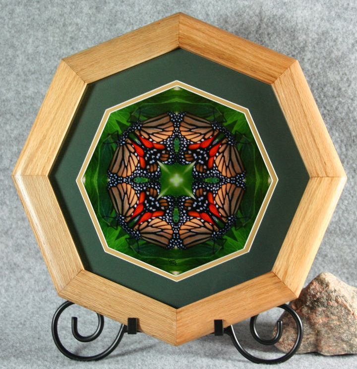 Sacred Geometry Framed Art