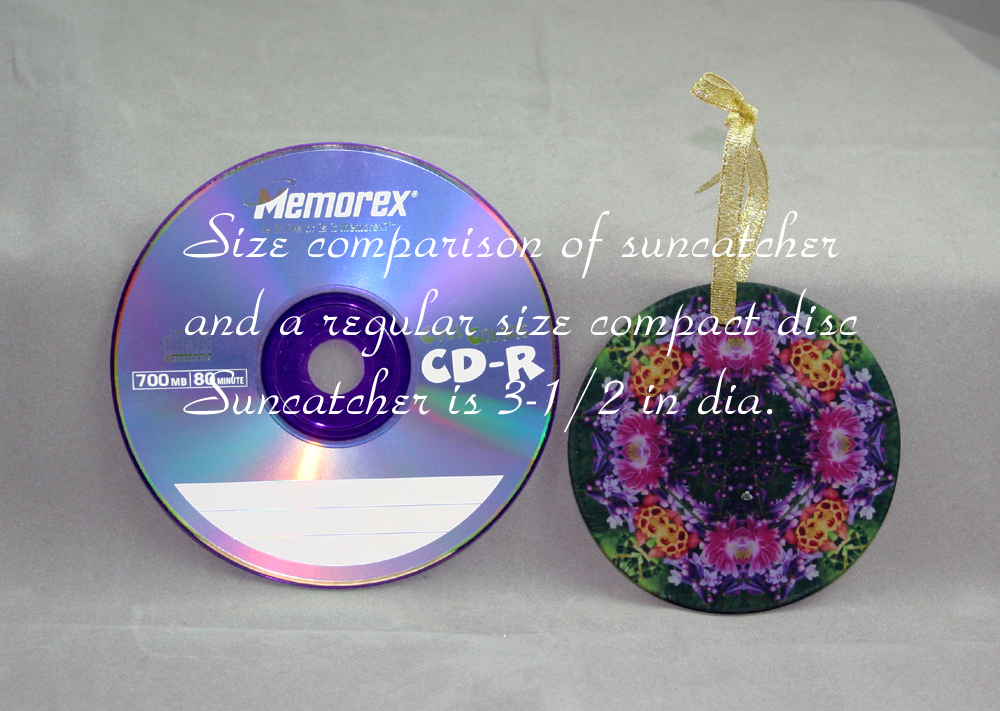 Suncatcher size reference