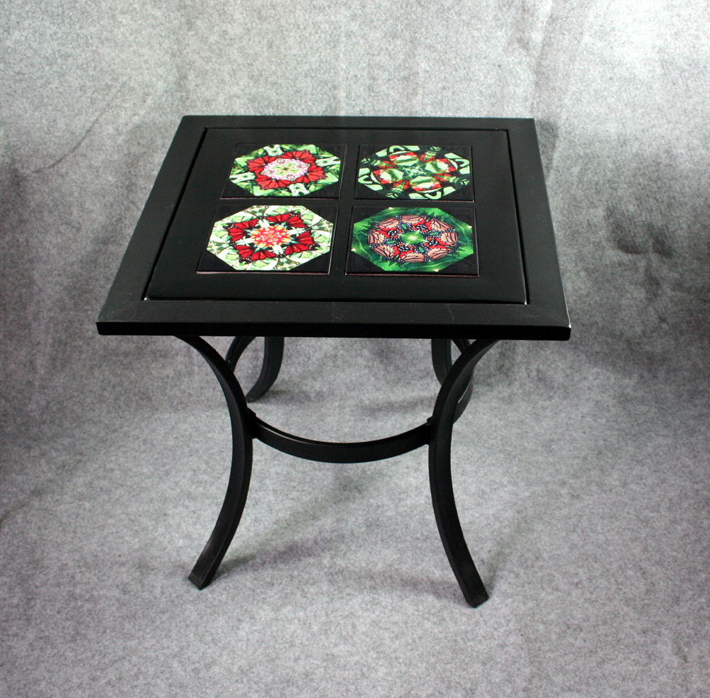 Metal Accent Table Side Table Coffee Table Patio Table