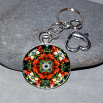 Lily Key Chain Sacred Geometry Mandala Summer Dreams