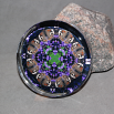 Butterfly Glass Paperweight Boho Chic Mandala New Age Sacred Geometry Kaleidoscope Delightful Soul