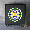 Daisy Sacred Geometry Wall Decor Mandala Wall Decor Sunny Splendor
