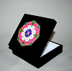 Daisy Music Box Keepsake Box Boho Chic Mandala New Age Sacred Geometry Hippie Kaleidoscope A Love That Transcends
