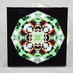 Bumble Bee Decorative Ceramic Tile Mandala Sacred Geometry Kaleidoscope Beemidji