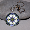 Daisy Key Chain Sacred Geometry Mandala Secret Desire