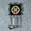 Butterfly Utensil Rack Sacred Geometry Mandala Kaleidoscope Beloved Psyche