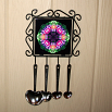 Columbine Utensil Rack Sacred Geometry Mandala Kaleidoscope Wonderfully Wild