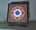 Daisy Mandala Kaleidoscope Framed Fine Art Print With Mat Kaleidoscopic Nature Photography Daisy Photograph Unique Wall Decor A Love That Transcends