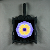 Water Lily Trivet Cast Iron Mandala Sacred Geometry Kaleidoscope Eye of the Beholder