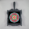 Butterfly Trivet Cast Iron Mandala Sacred Geometry Kaleidoscope Summer Solace
