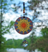 Chakra Mandala Suncatcher Zen Boho Sacred Geometry Hippie Kaleidoscope Meditation Tool Unique Gift For Her Unique Gift For Him Exploding Energy