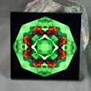 Butterfly Decorative Ceramic Tile Mandala Sacred Geometry Kaleidoscope On a Wing and a Prayer