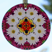 Daisy Suncatcher Boho Chic Mandala Sacred Geometry New Age Kaleidoscope Unique Gift For Her Zen Reflections Of A Virtuous Love