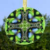 Caterpillar Suncatcher Glass Mandala Sacred Geometry Kaleidoscope Miracle