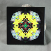 Bumble Bee Decorative Ceramic Tile Mandala Sacred Geometry Kaleidoscope Busy Bee