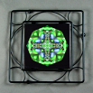 Caterpillar Trivet Black Iron Mandala Sacred Geometry Kaleidoscope Miracle