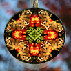 Butterfly Suncatcher Boho Chic Mandala Sacred Geometry New Age Kaleidoscope Winged Wonder