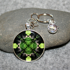 Bear Key Chain Sacred Geometry Mandala Bear Essentials
