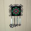 Butterfly Utensil Rack Sacred Geometry Mandala Kaleidoscope Monarch Melody