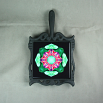 Butterfly Trivet Cast Iron Ceramic Tile Mandala Sacred Geometry Kaleidoscope Romantic Renaissance
