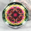 Butterfly Paperweight Mandala Sacred Geometry Kaleidoscope Warm Embrace