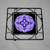 Dragonfly Trivet Black Iron Boho Chic Mandala New Age Sacred Geometry Hippie Kaleidoscope Pure Passion