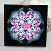Butterfly Decorative Ceramic Tile Sacred Geometry Mandala Kaleidoscope Nymph Nirvana