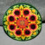 Blanket Flower Magnet Mandala Sacred Geometry Kaleidoscope A Ray of Hope