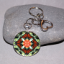 Butterfly Key Chain Sacred Geometry Mandala Beloved Psyche