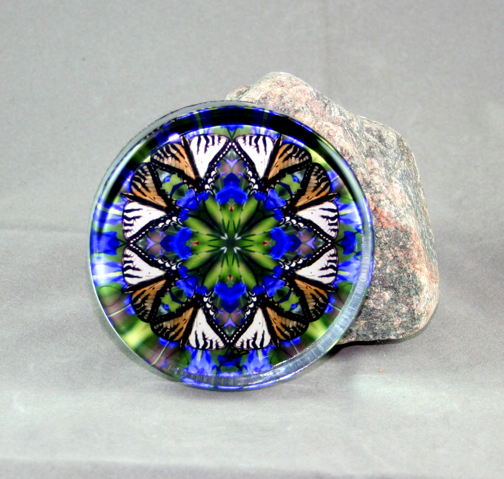 Butterfly Glass Paperweights