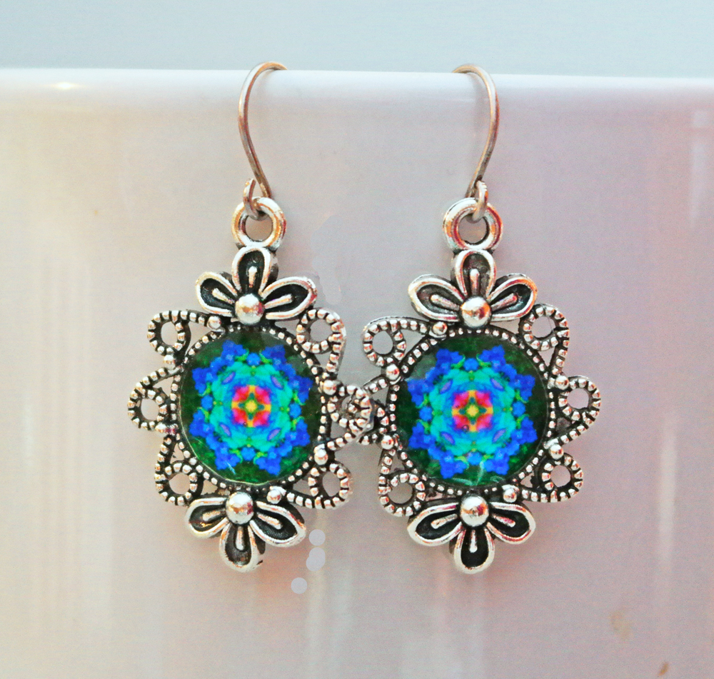 Flower Shaped Earrings