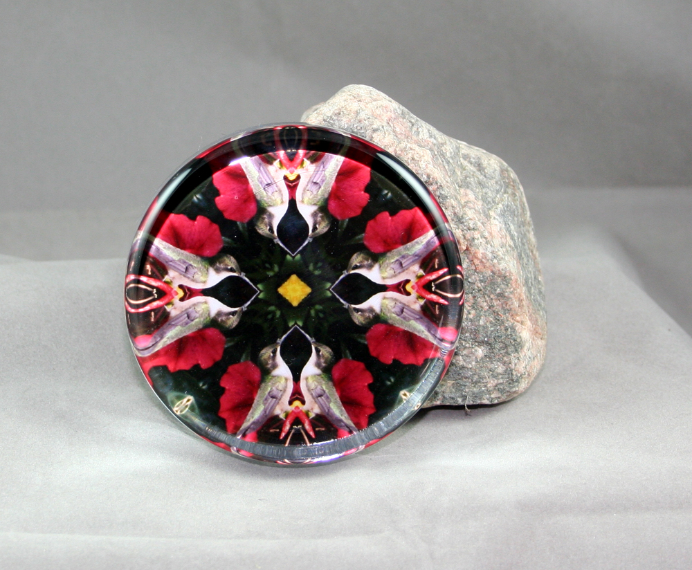 Bird Glass paperweight