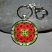 Keychain with heart lobster clasp
