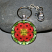 Keychain with swivel lobster clasp