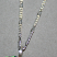 Silver necklace chain