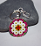 daisy purse charm