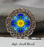forget me not brooch pin
