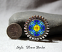 forget me not hat pin