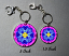 forget me not key chain