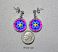 forget me not earrings