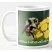 honey bee mug and coaster set