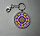 flower key chain