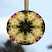 Daisy glass suncatcher