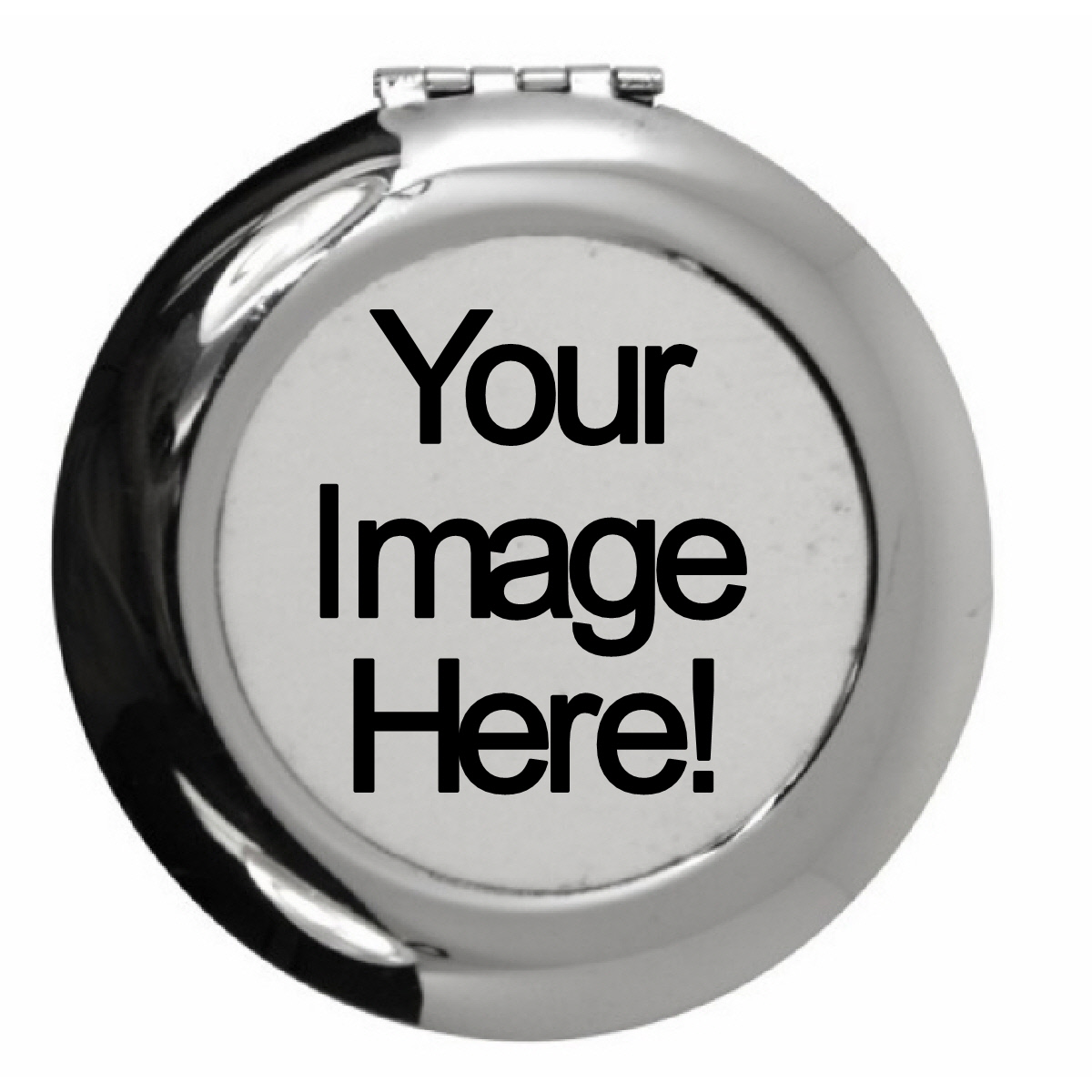 A Bespoke Customized Personalized Compact Mirror Pocket Mirror Purse Mirror Keepsake Unique Gift