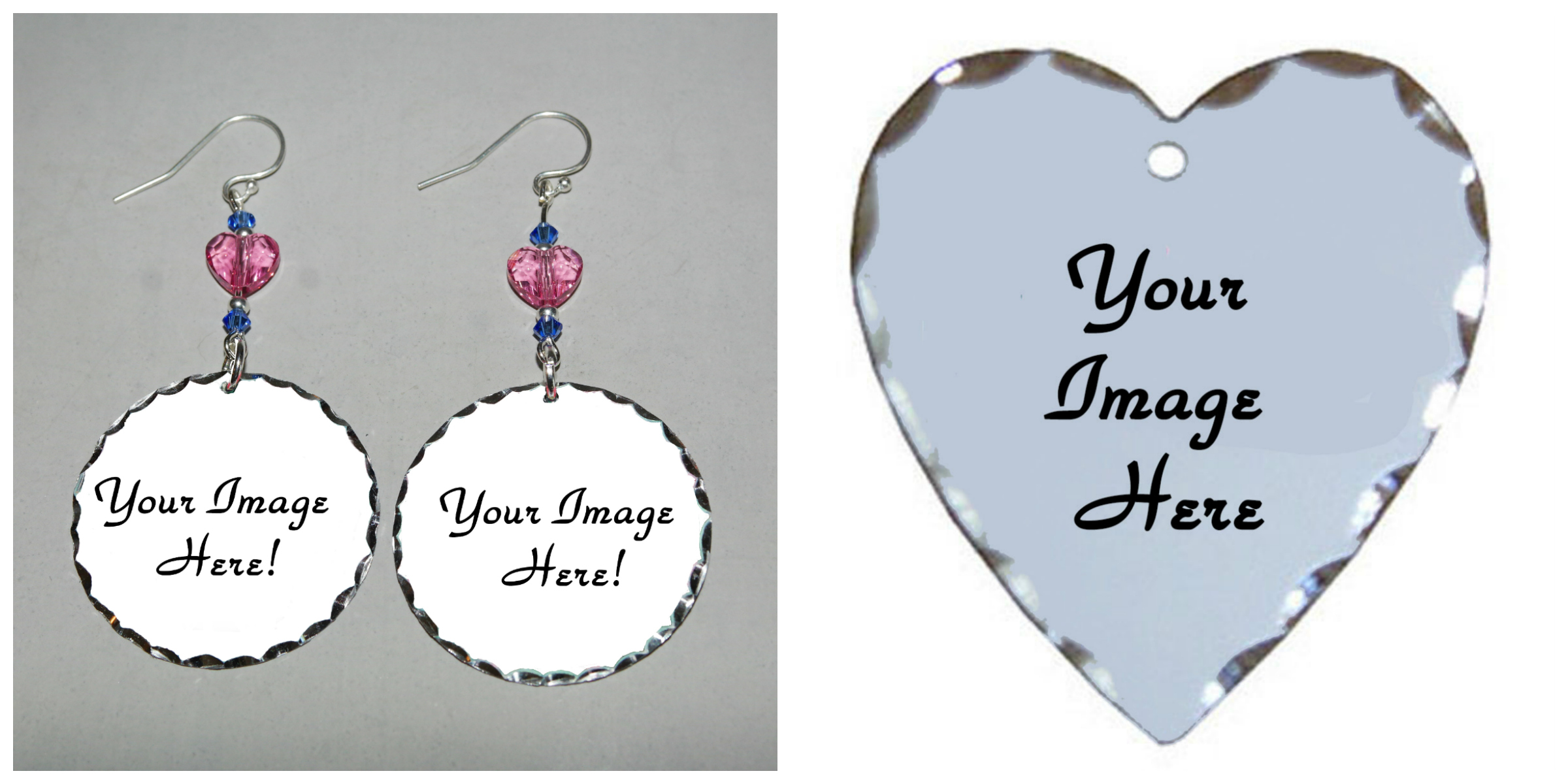 A Bespoke Earrings Personalized Customized Keepsake Jewelry