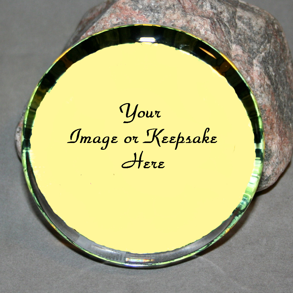 A Bespoke Personalized Glass Paperweight Customized Keepsake Unique Boss Gift Teacher Gift Coworker Gift