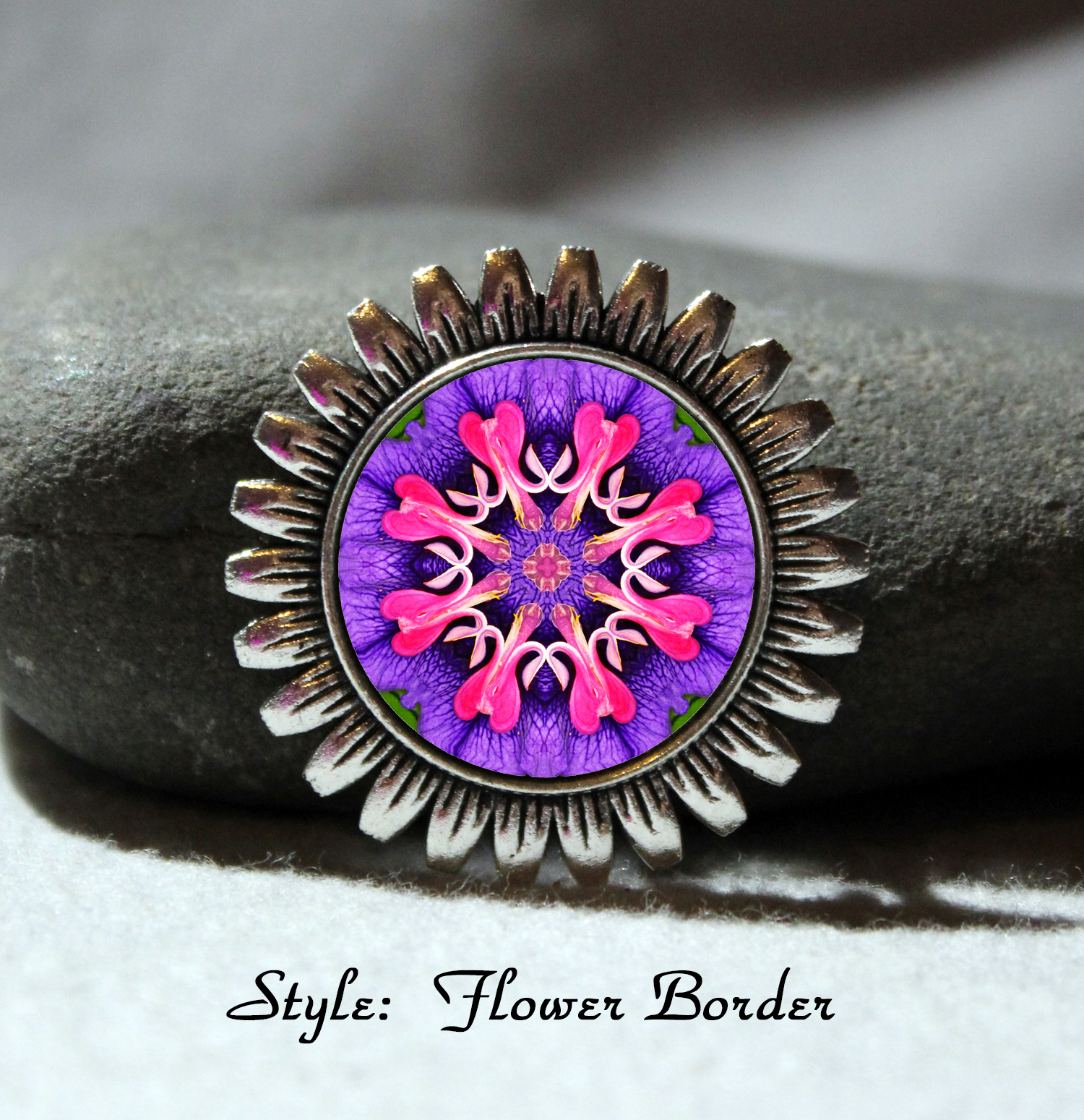 Brooch Lapel Pin Hat Pin Collar Pin Scarf Pin Chakra Mandala Heart Sacred Geometry Unique Gift For Her Thats Amore