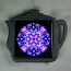 Hyacinth Trivet Cast Iron Teapot Ceramic Tile Mandala Sacred Geometry Frolicking Flora