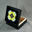 Honey Bee Keepsake Box Trinket Box Sacred Geometry Mandala Kaleidoscope Busy Bee