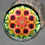Blanket Flower Paperweight Mandala Sacred Geometry Kaleidoscope A Ray of Hope
